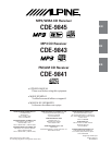 b41a067a 89f7 4065 a583 a530df26f26a thumb 1 alpine cd player cde 9843 user guide manualsonline com alpine cde 9843 wiring diagram at aneh.co