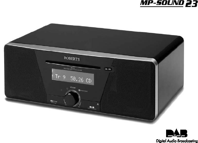 roberts radio stereo system mp 23 user guide manualsonline com rh audio manualsonline com