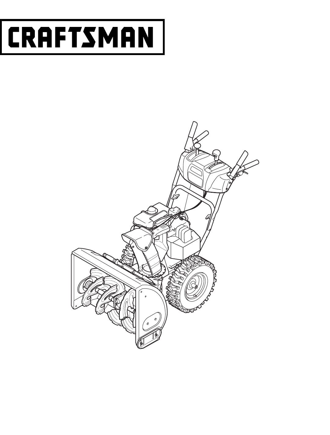 Craftsman 42 Snow Thrower Manual