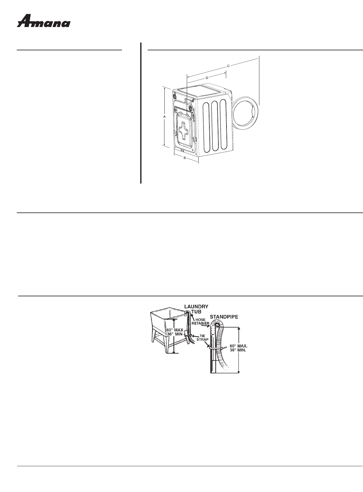 amana washer nfw7200tw user guide manualsonline com rh laundry manualsonline com amana washer nfw7200tw parts diagram amana washing machine nfw7200tw manual