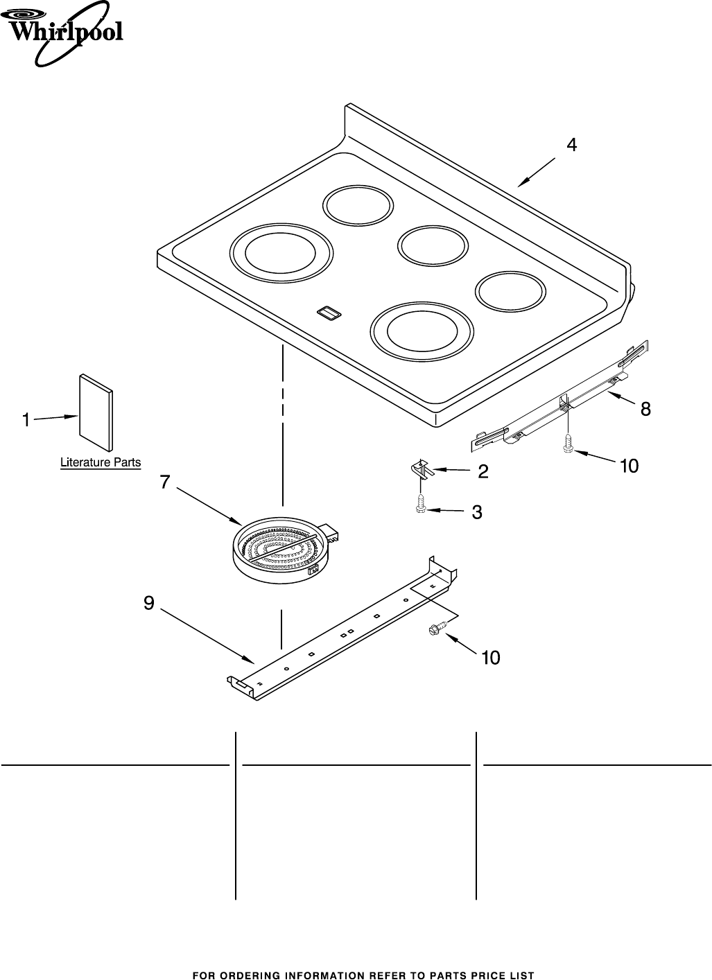 whirlpool cooktop installation instructions