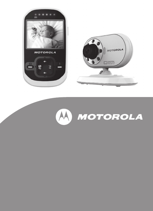 motorola baby monitor mbp26 user guide. Black Bedroom Furniture Sets. Home Design Ideas