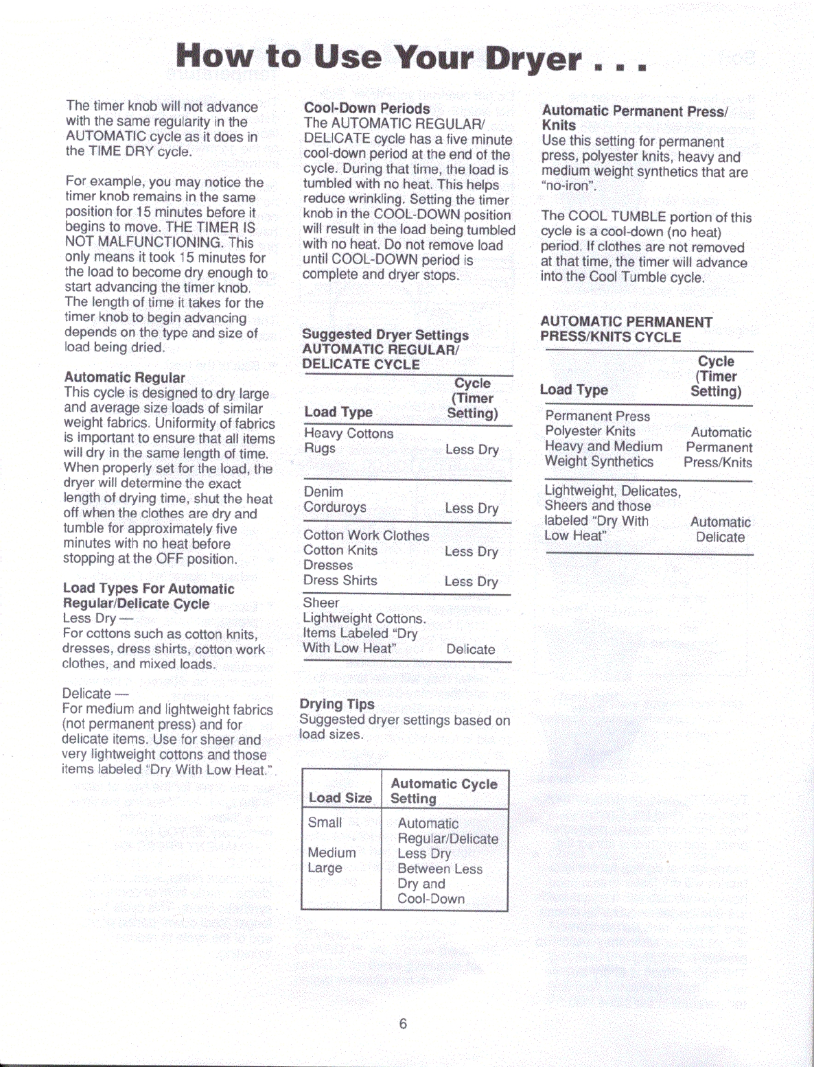 Page 2 of Amana Washer/Dryer LG4309 User Guide | ManualsOnline com