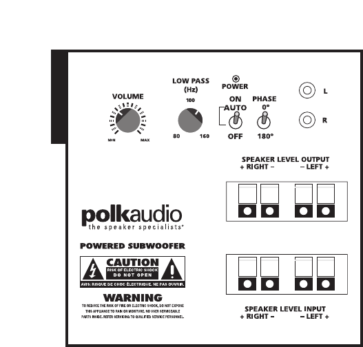 page 15 of polk audio stereo system rm6750 user guide rh audio manualsonline com polk audio psw110 manual polk audio psw110 manual