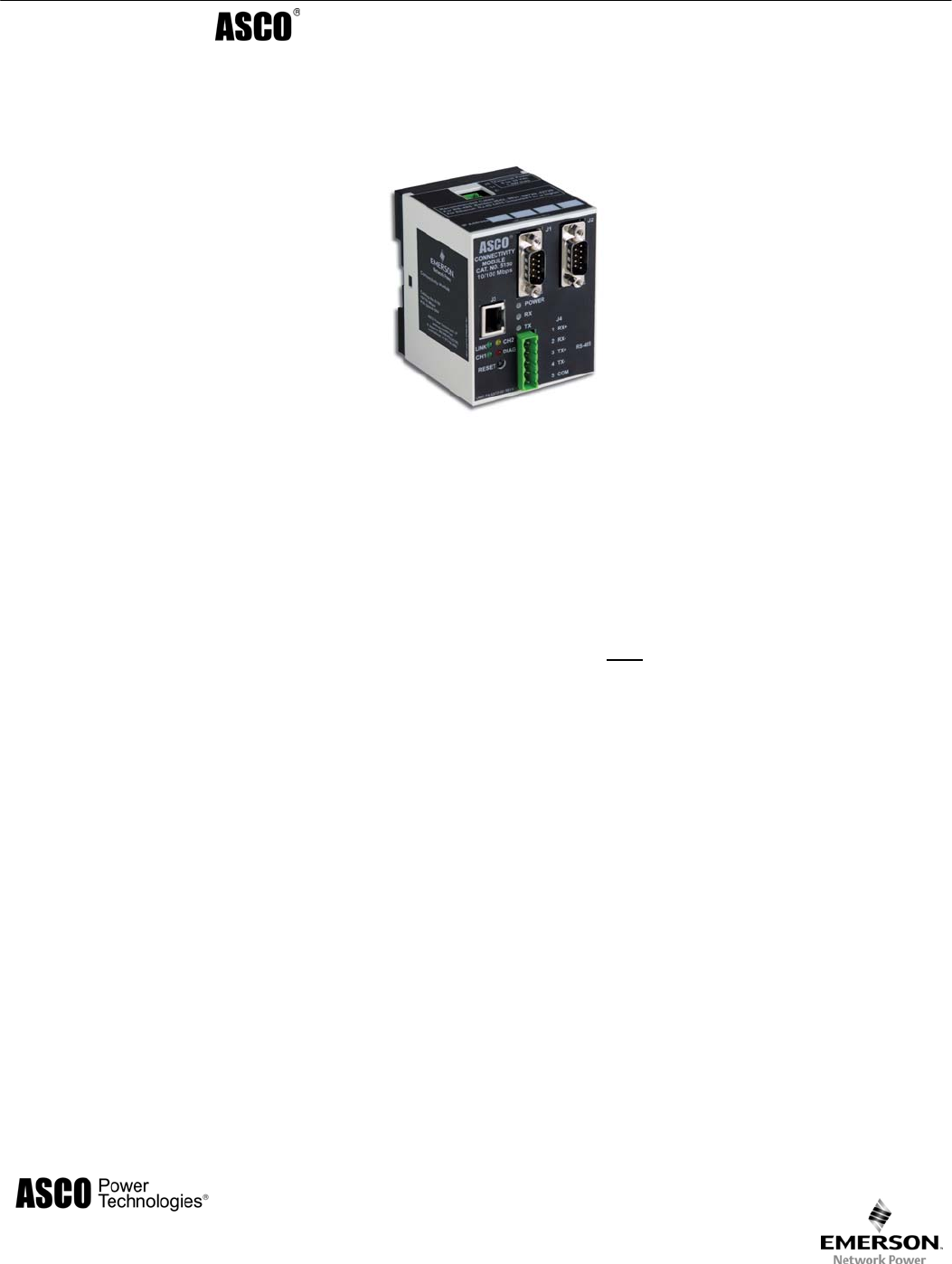 Emerson Switch 5100 User Guide