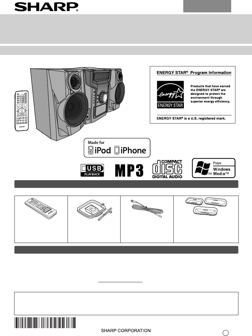 sharp stereo system cd dh950p user guide manualsonline com rh audio manualsonline com Sharp 5 CD Stereo System sharp audio system manual xl-dk255