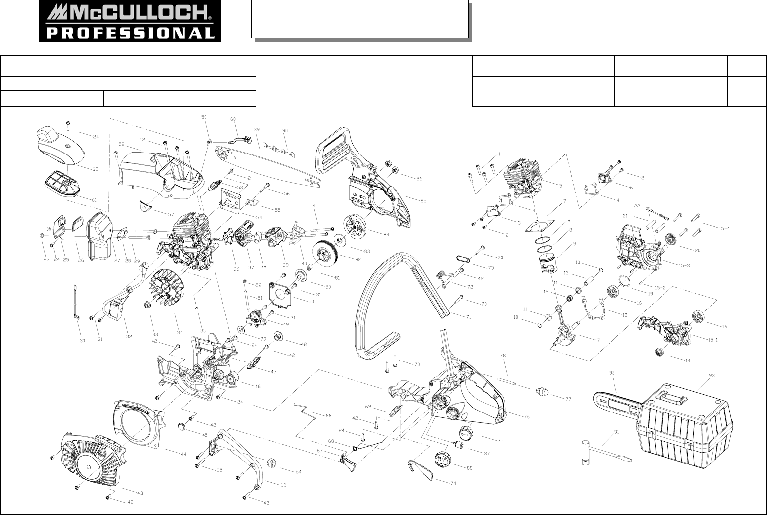 Mcculloch chainsaw 41ay06pr966 user guide manualsonline mcculloch 41ay06pr966 chainsaw user manual greentooth Choice Image