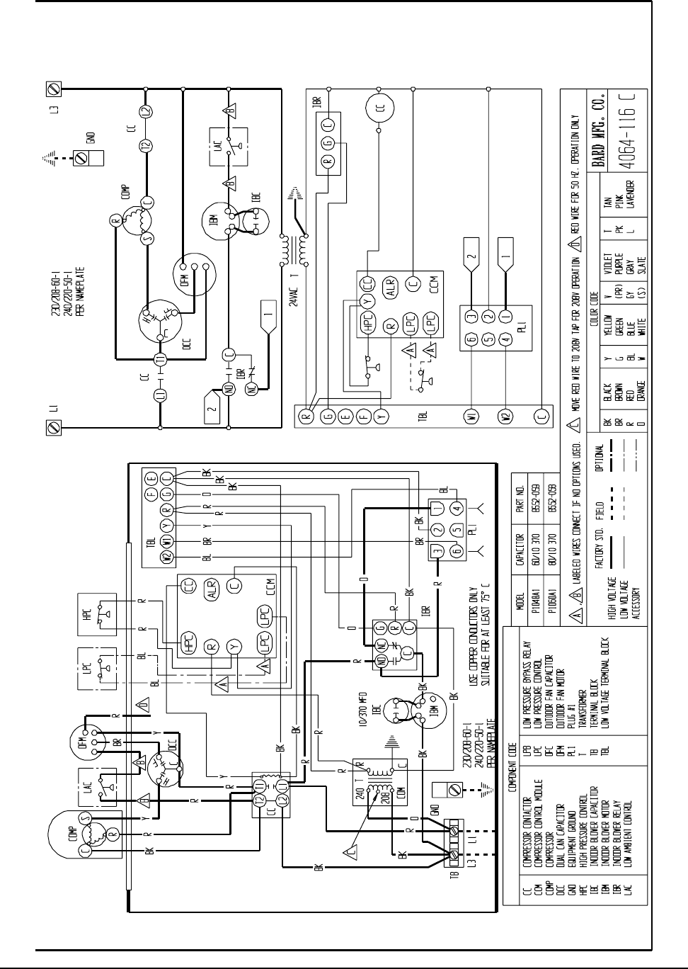 Bard Air Conditioner Wiring Diagram : Page of bard air conditioner p a user guide