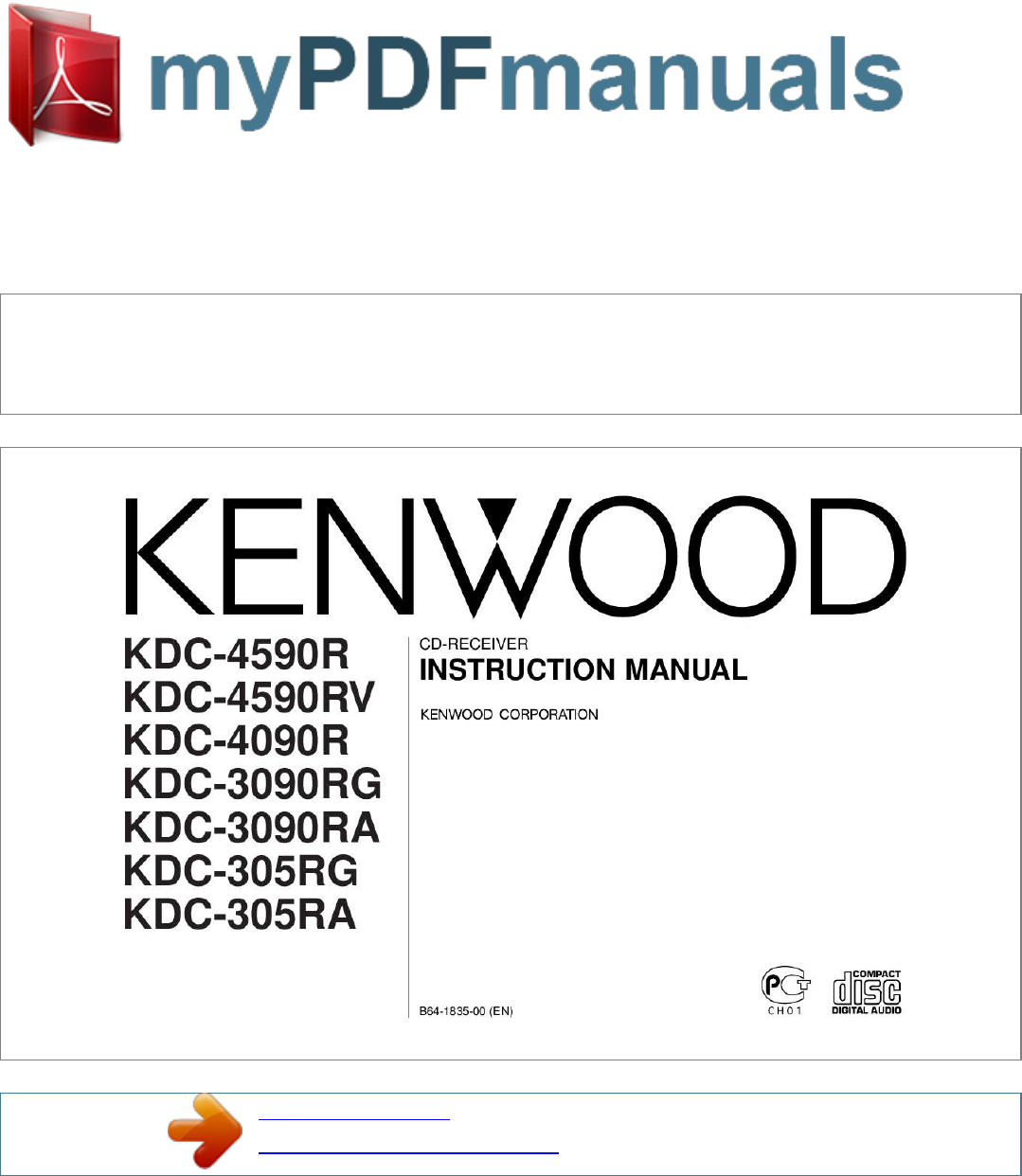 kenwood car stereo system kdc 4590r user guide manualsonline com rh audio manualsonline com kenwood car audio user manual kenwood car stereo user manual