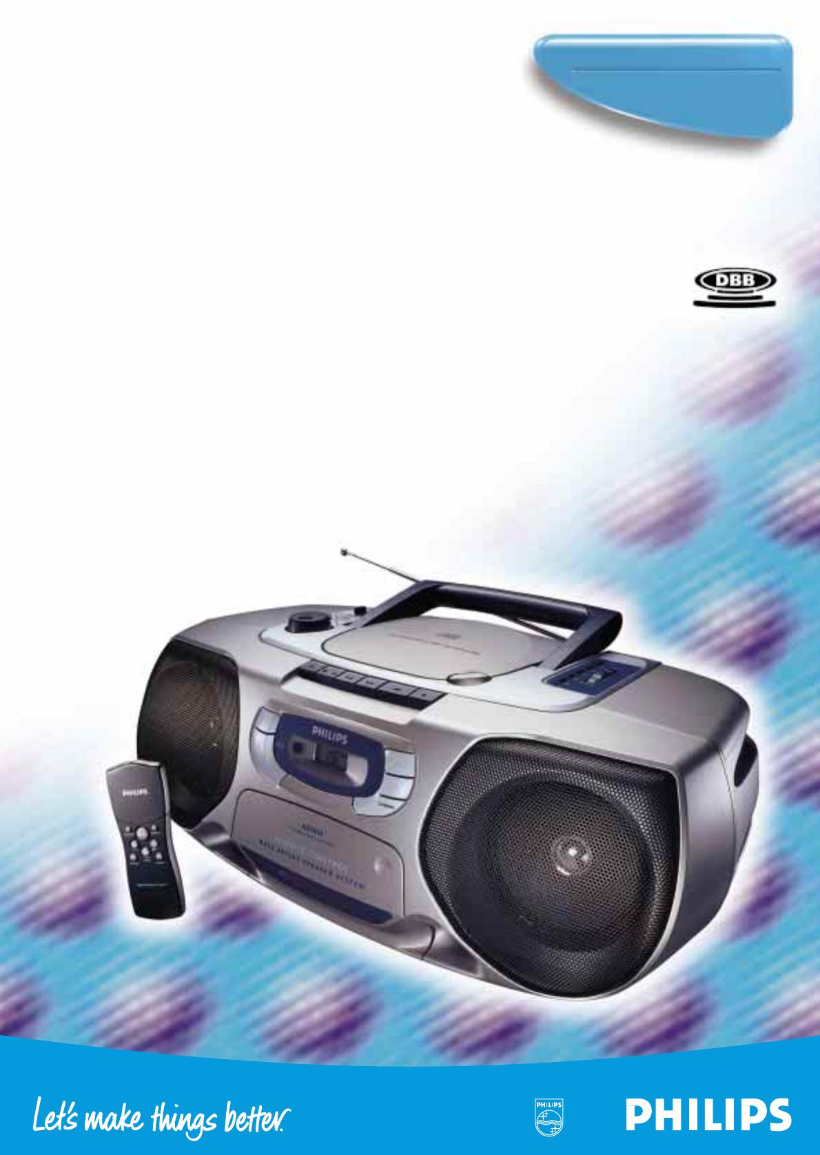Philips Cd Player Az1015 User Guide Manualsonline Com