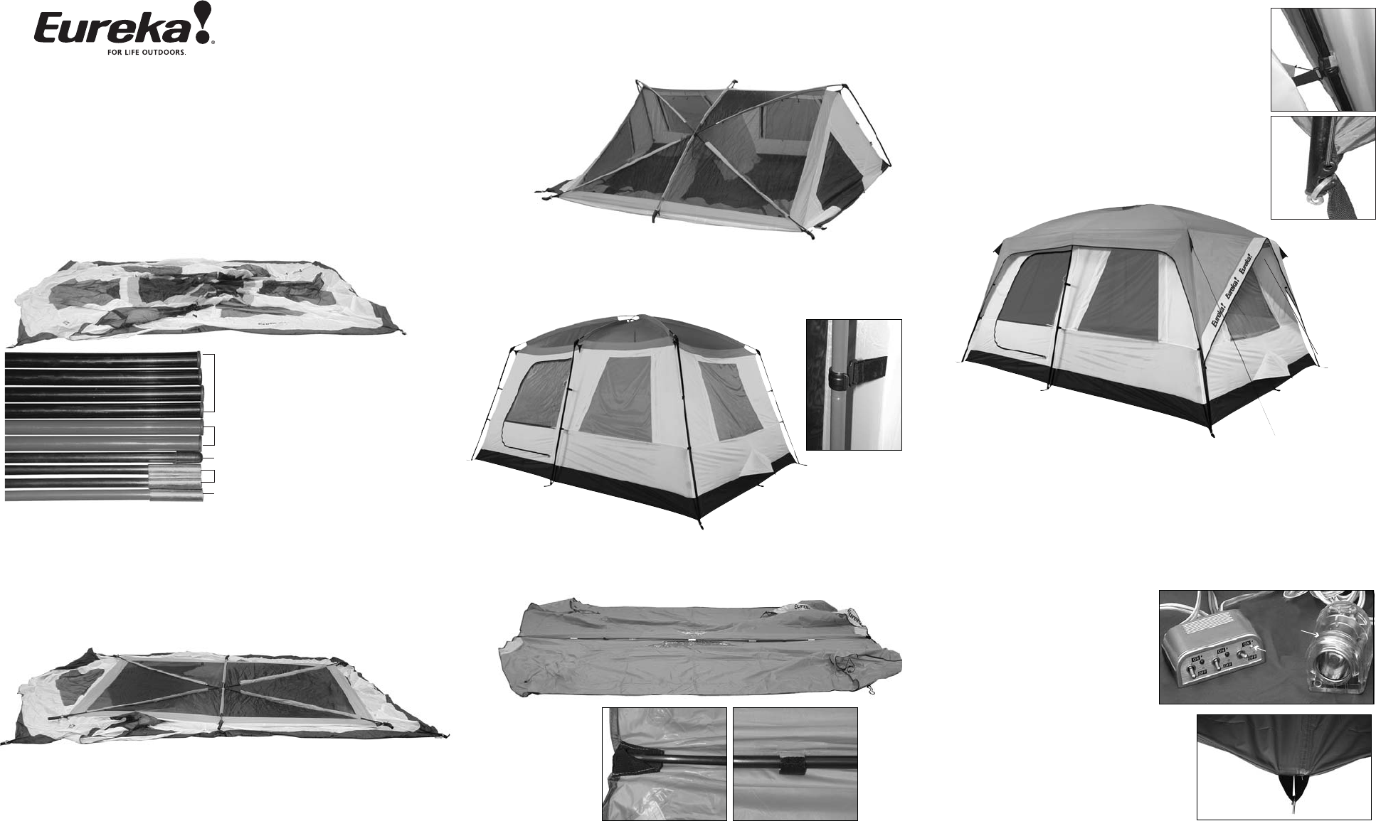 Eureka Tents Tent Nergy 1310 User Guide Manualsonline