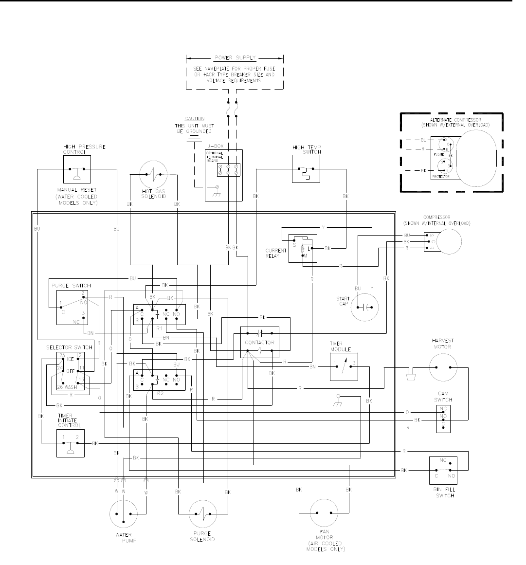Ice O Matic Wiring Diagram Library