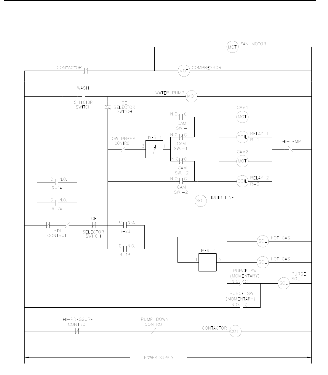 Wiring Diagram On An Older Model Ice O Matic Free Download Page 111 Of Maker Ice0250 Series User Guide At