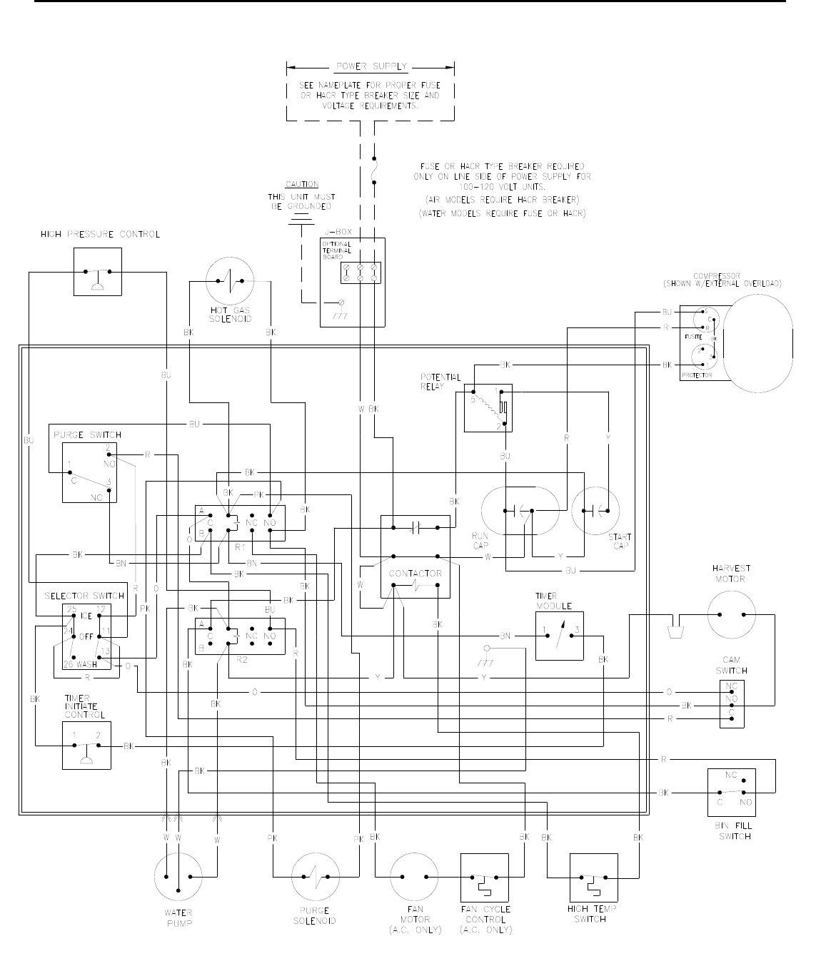ICE Series Wiring Diagram