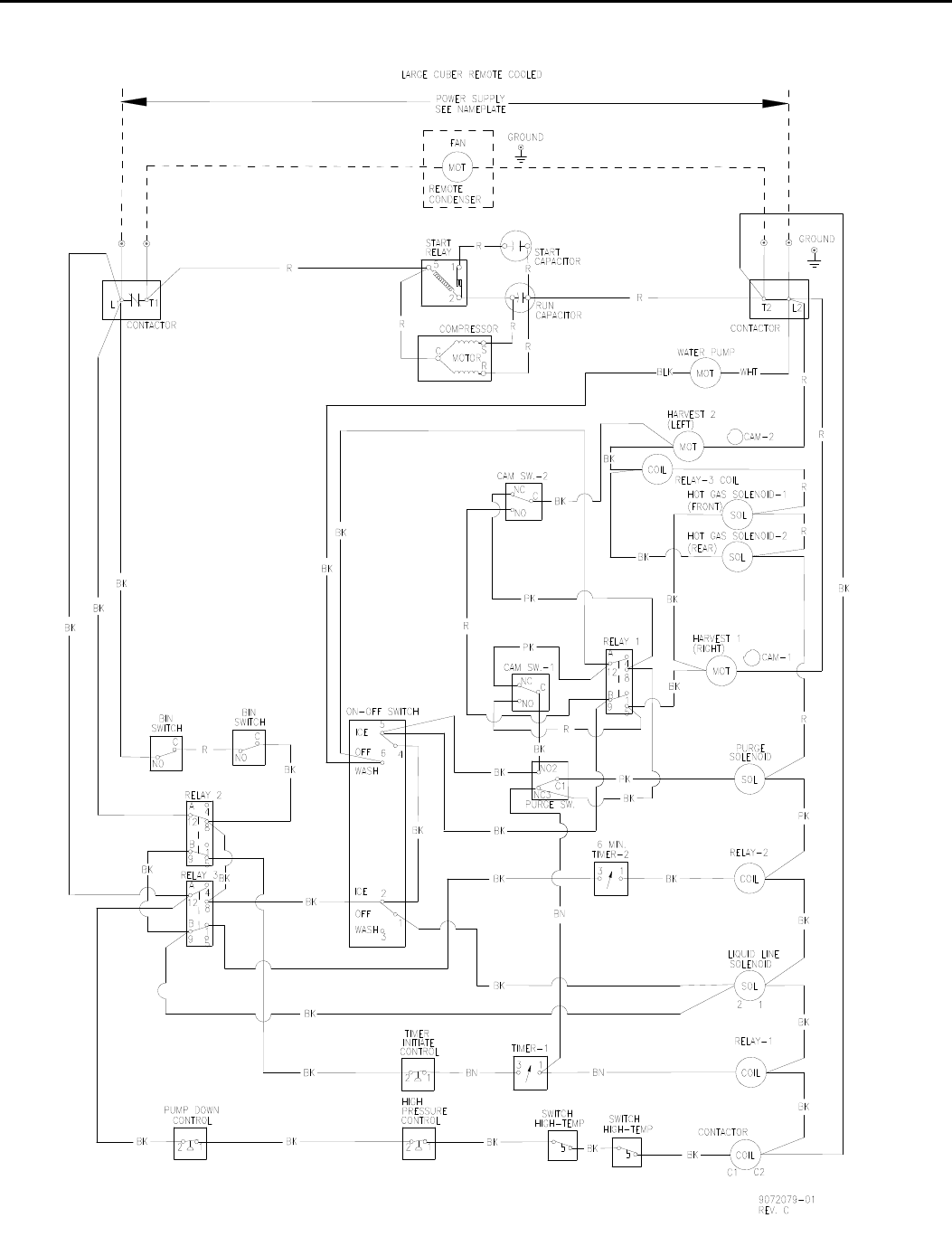 [EQHS_1162]  Page 159 of Ice-O-Matic Ice Maker ICE0250 Series User Guide    ManualsOnline.com   Ice O Matic Wiring Diagram      Kitchen Appliance Manuals - ManualsOnline.com