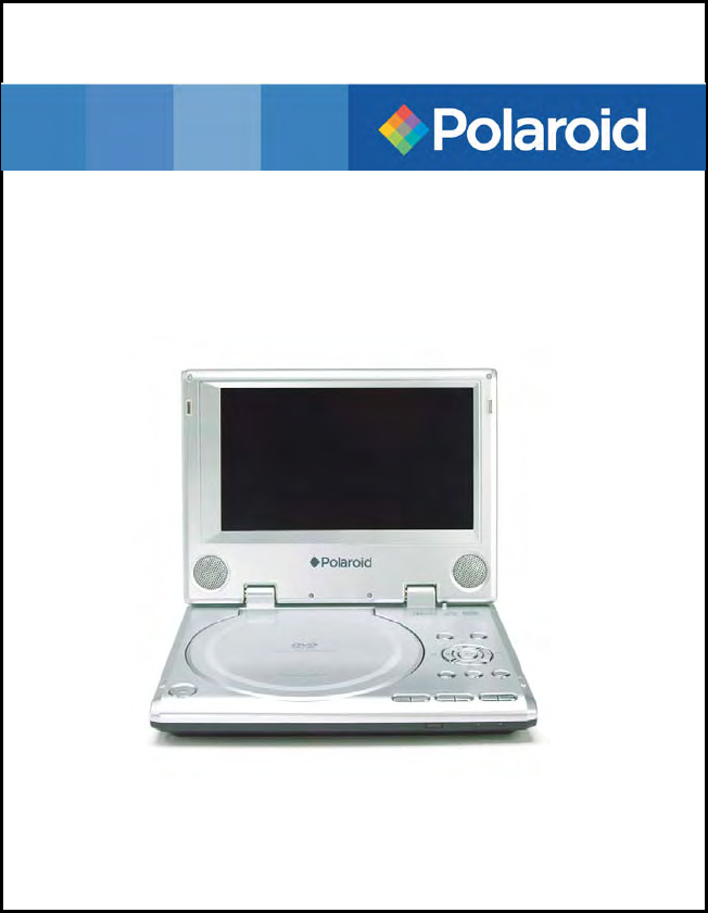 polaroid portable dvd player pdm 0714 user guide. Black Bedroom Furniture Sets. Home Design Ideas