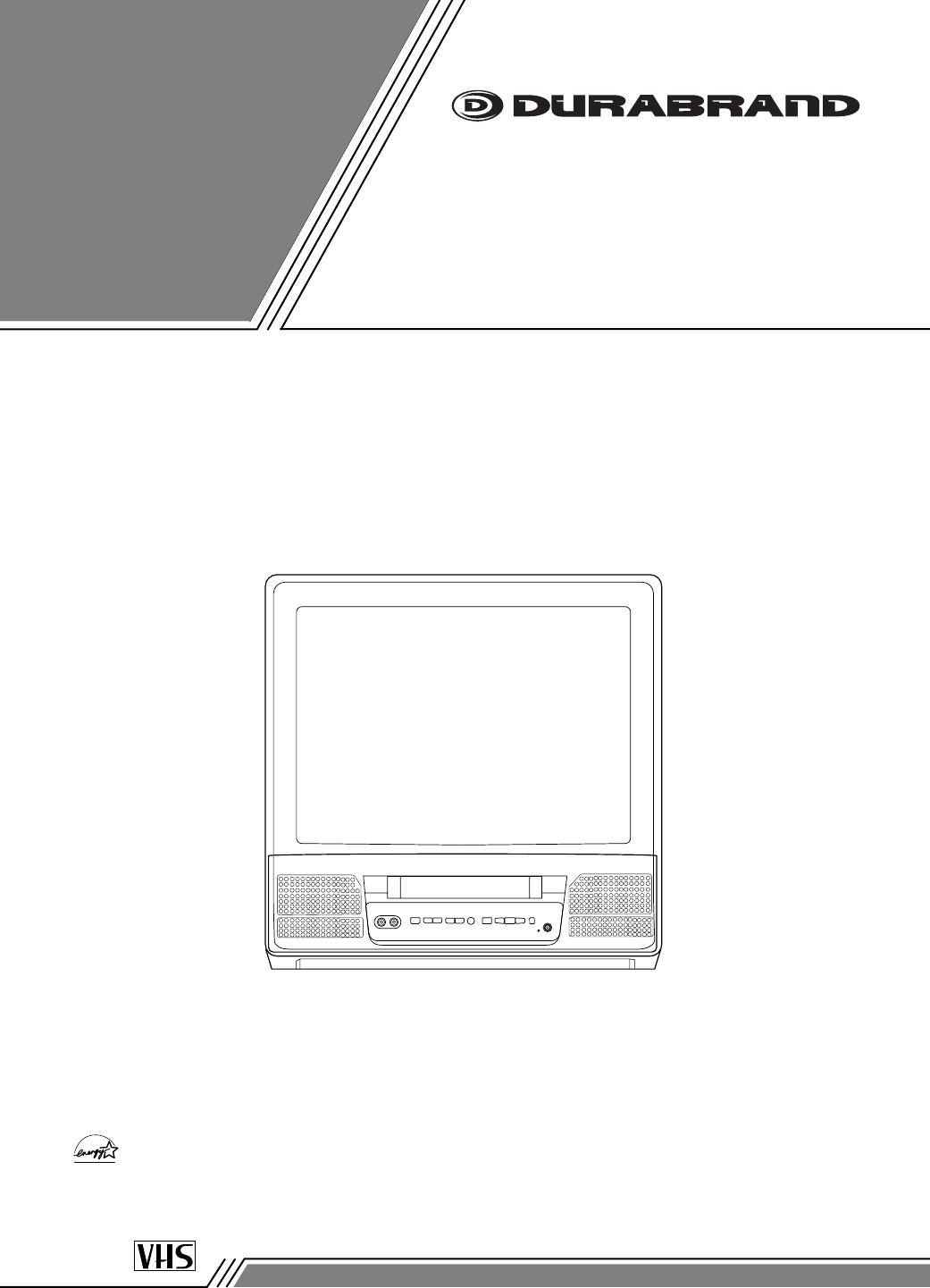 durabrand tv vcr combo dcc1303 user guide manualsonline com rh tv manualsonline com