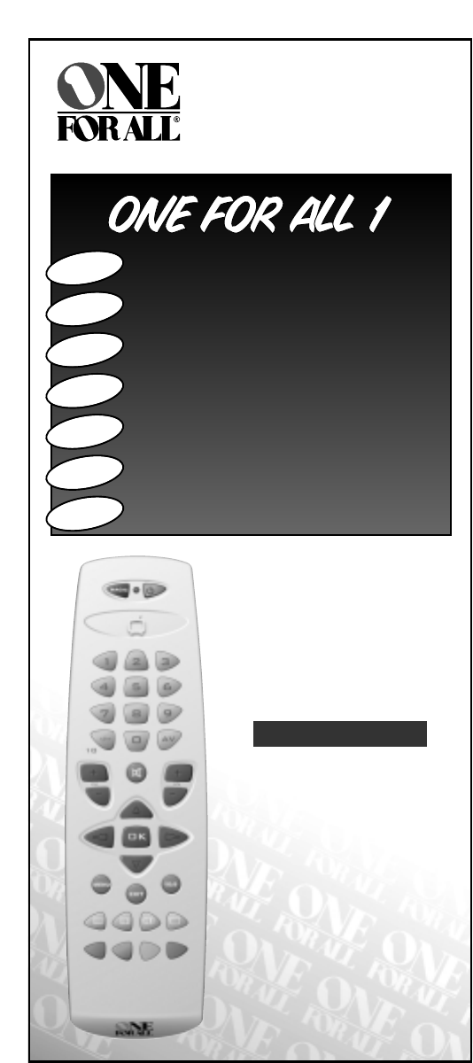 One For All Universal Remote Urc 7710 User Guide Manualsonline