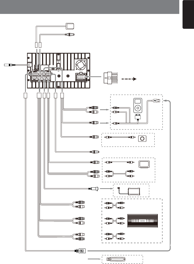 clarion backup camera wiring diagram clarion speaker