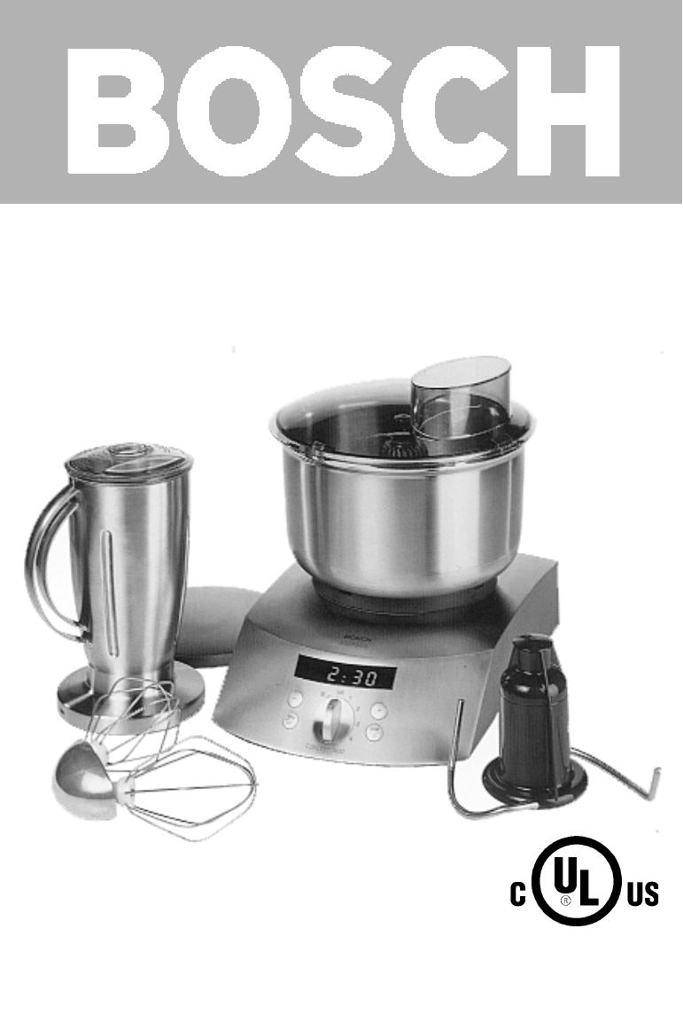 bosch appliances blender mum 7400 uc user guide. Black Bedroom Furniture Sets. Home Design Ideas