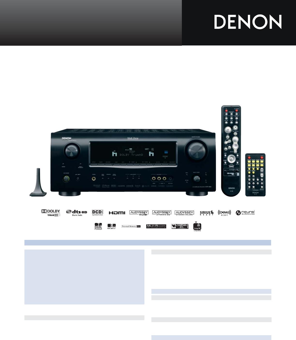denon stereo system avr 1909 user guide manualsonline com rh audio manualsonline com denon avr-1909 service manual denon avr-1909 service manual