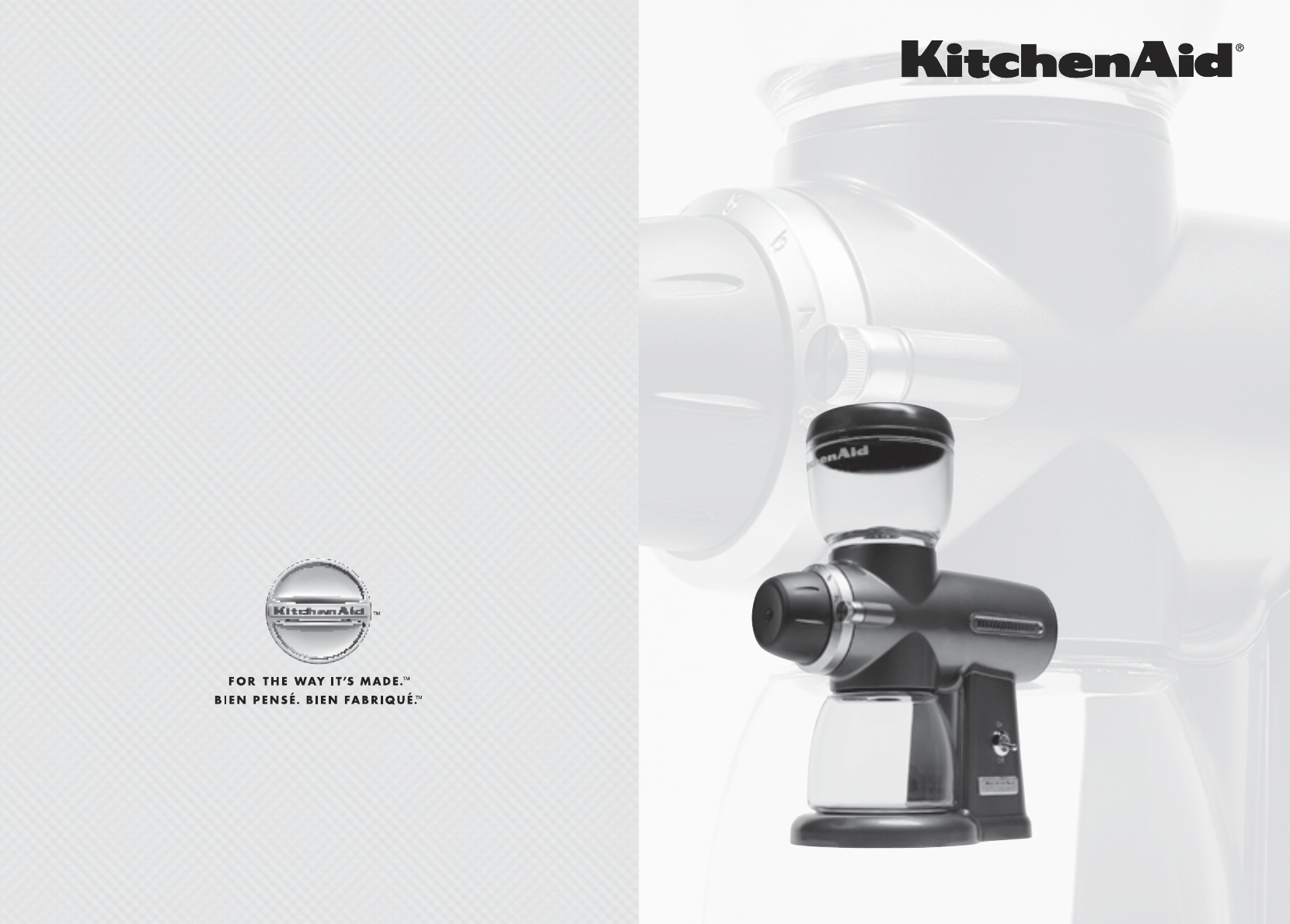 KitchenAid Coffee Grinder KPCG100 User Guide ManualsOnline.com