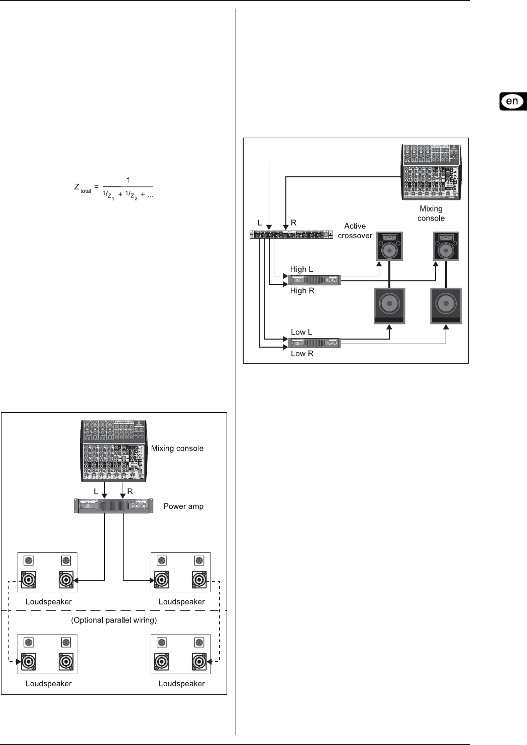 Page 5 Of Behringer Speaker P2520 User Guide Manualsonlinecom Active Crossover Wiring Diagram