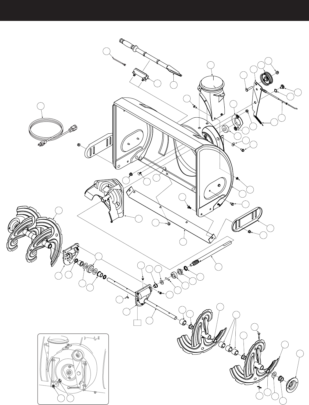 page 26 of craftsman snow blower 247 8819 user guide