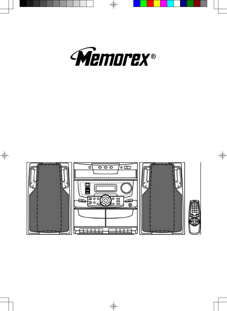 memorex stereo system mx5310 user guide