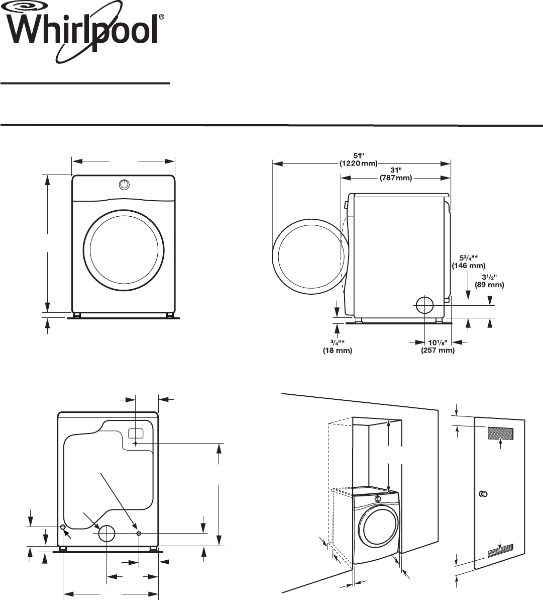whirlpool clothes dryer wgd70heb user guide