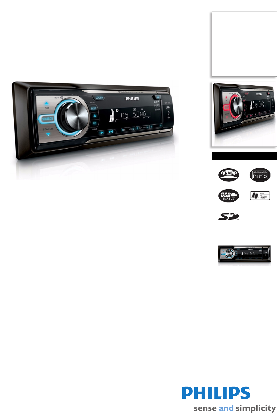 philips car stereo system ce120 user guide manualsonline com rh caraudio manualsonline com Philips User Guides Speaker Bt7900 Philips Flat TV Manual