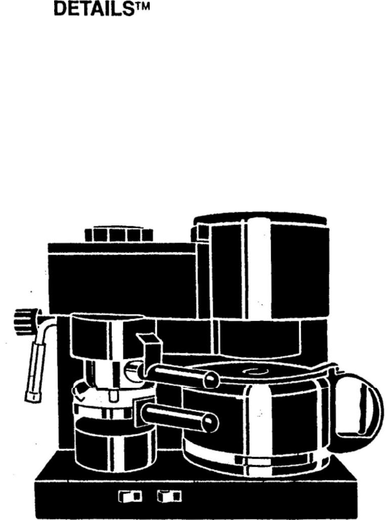 Mr Coffee Maker Instructions : Mr. Coffee Espresso Maker ECM11 User Guide ManualsOnline.com