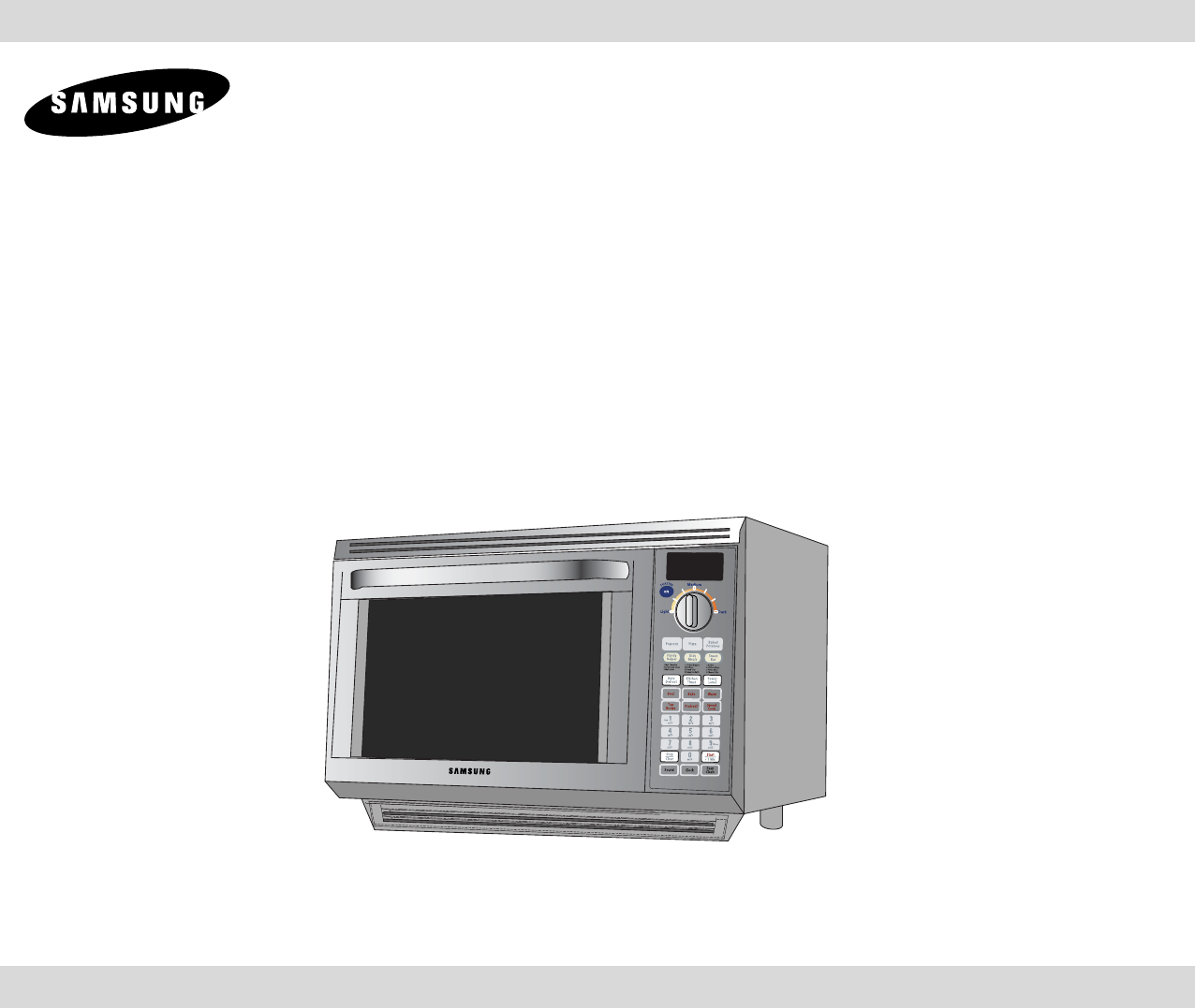 User Manual Samsung Microwave Oven: Samsung Microwave Oven MT1066SB User Guide