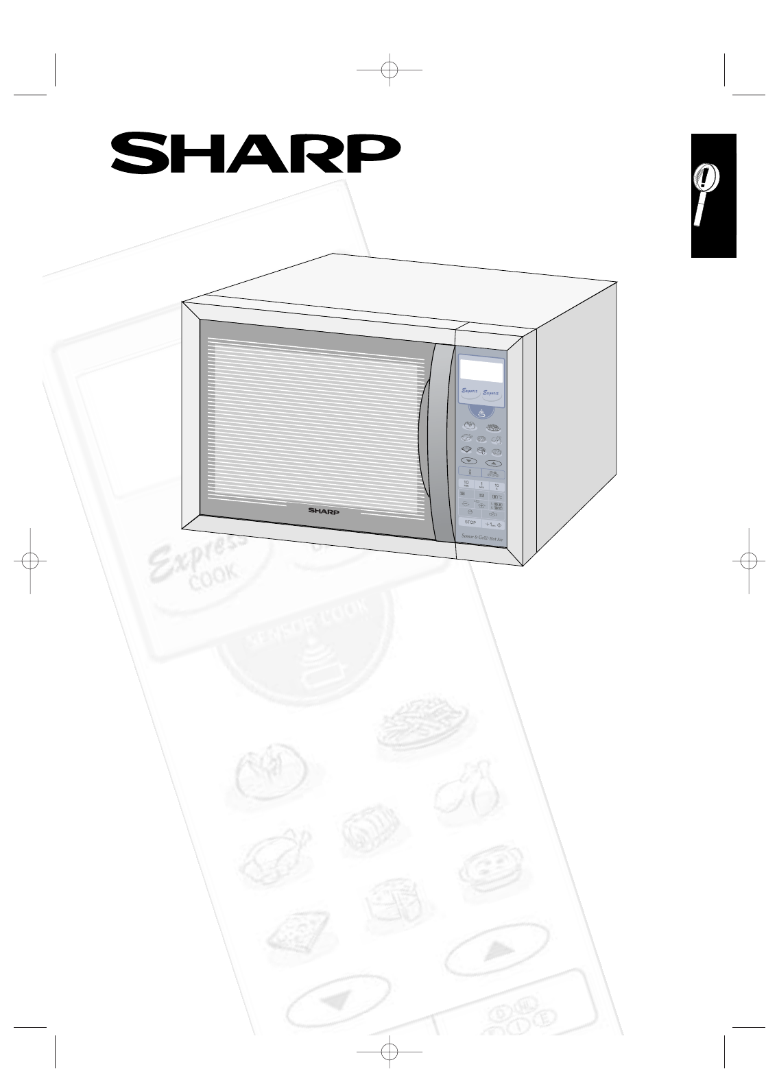 sharp convection oven r 963s user guide manualsonline com rh kitchen manualsonline com sharp microwave manual r3a87 sharp microwave manual r-1850a