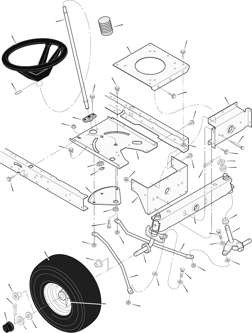 Murray Riding Mower Replacement Parts : Page of murray lawn mower b user guide