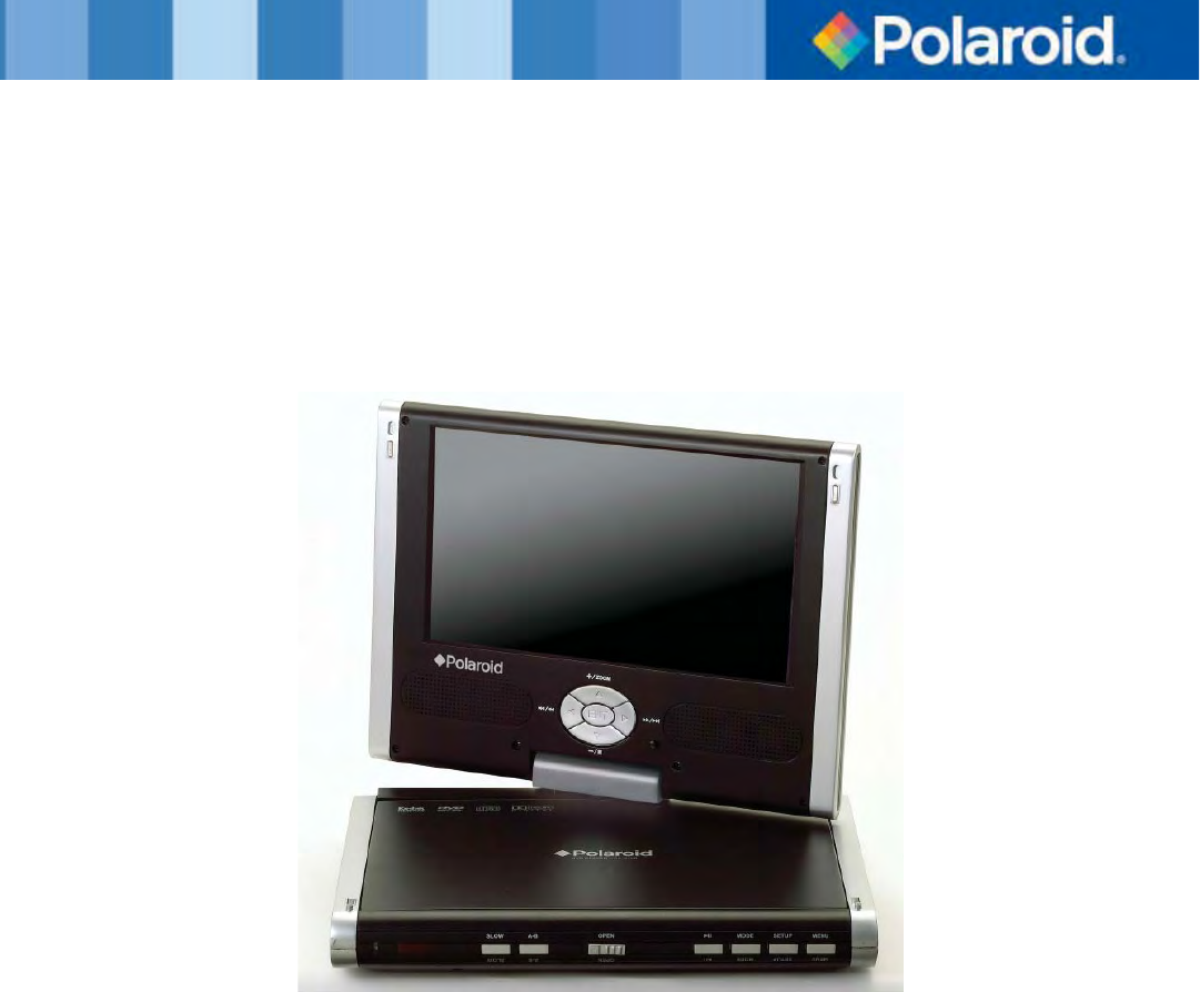 polaroid portable dvd player 20060915 user guide. Black Bedroom Furniture Sets. Home Design Ideas