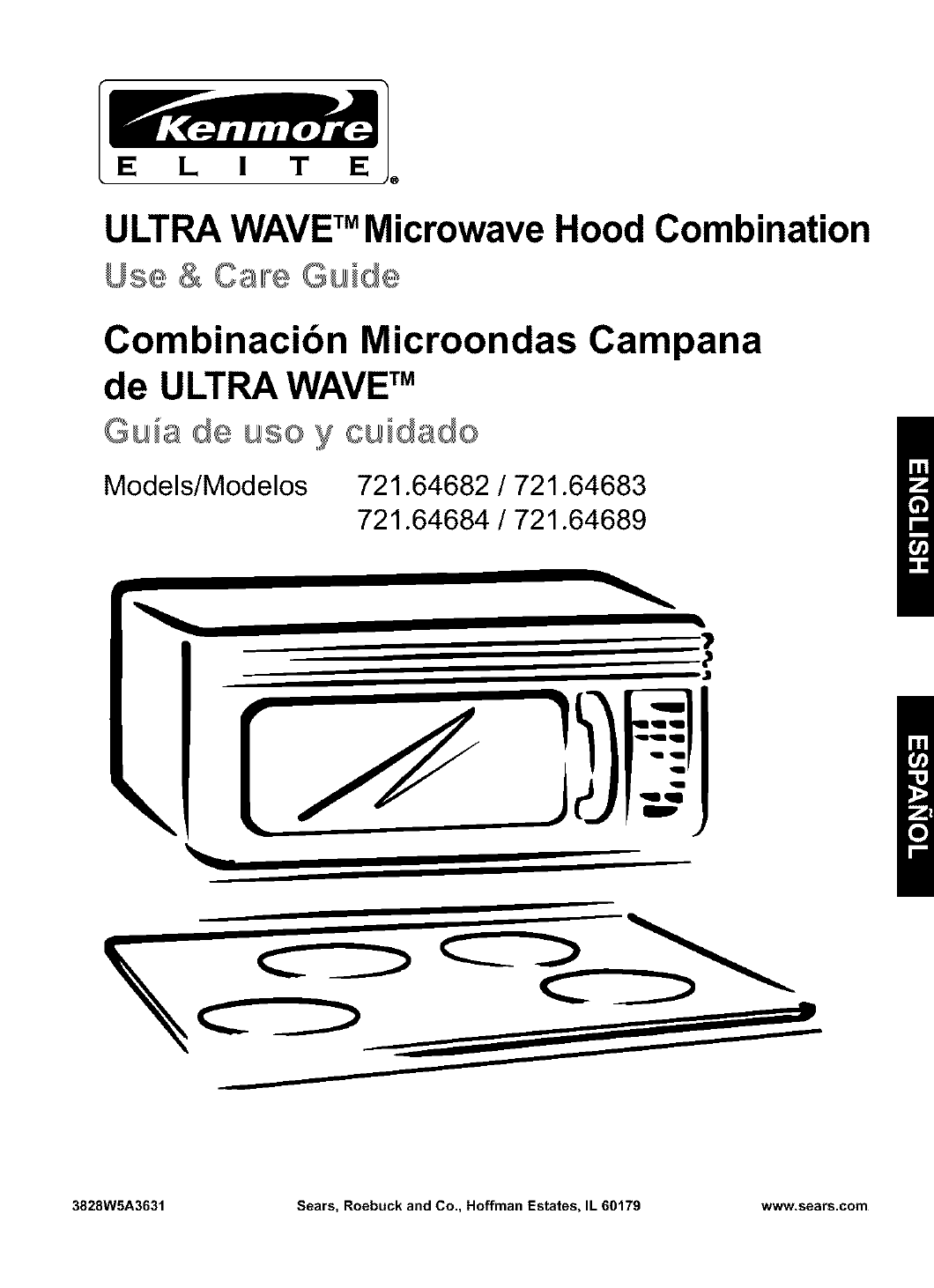 Kenmore Microwave Oven 721 64682 User