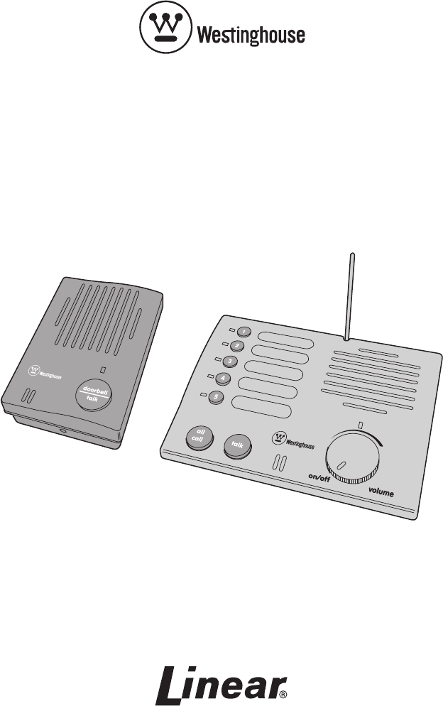 Fantastic Westinghouse Intercom System Whi 5S User Guide Manualsonline Wiring 101 Olytiaxxcnl