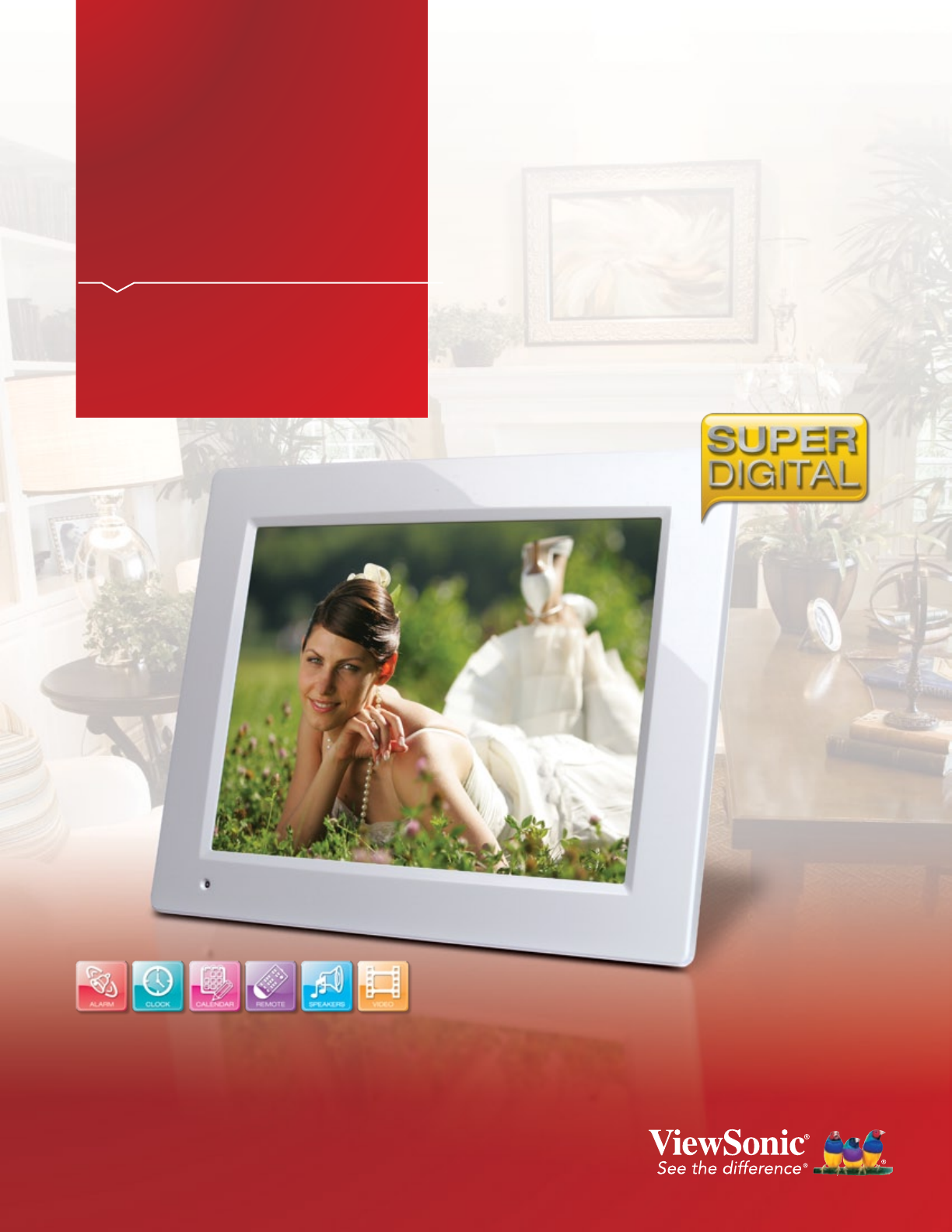VFM153011 Digital Photo Frame  ViewSonic