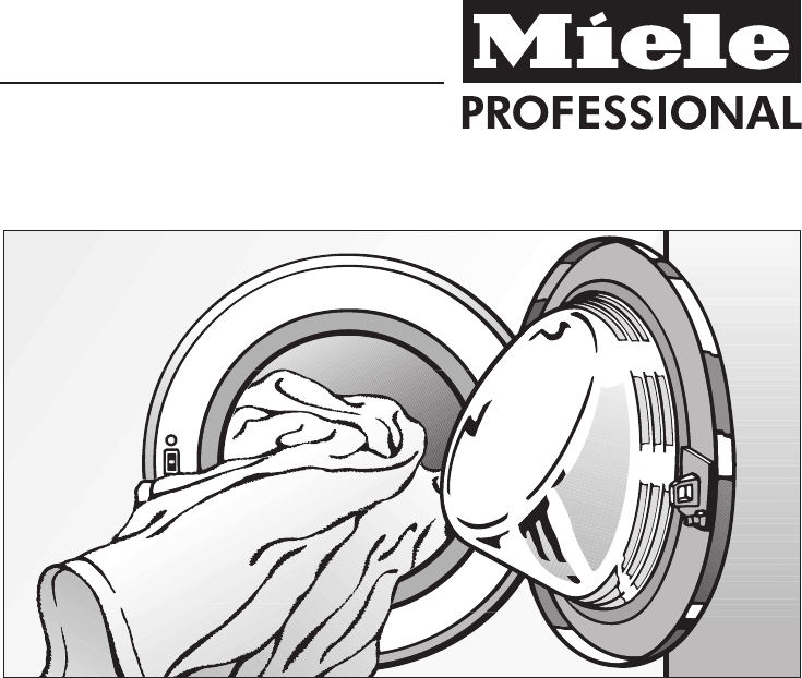 miele washer pw 6065 user guide manualsonline com rh laundry manualsonline com miele professional pw 5065 service manual miele pw 6065 service manual