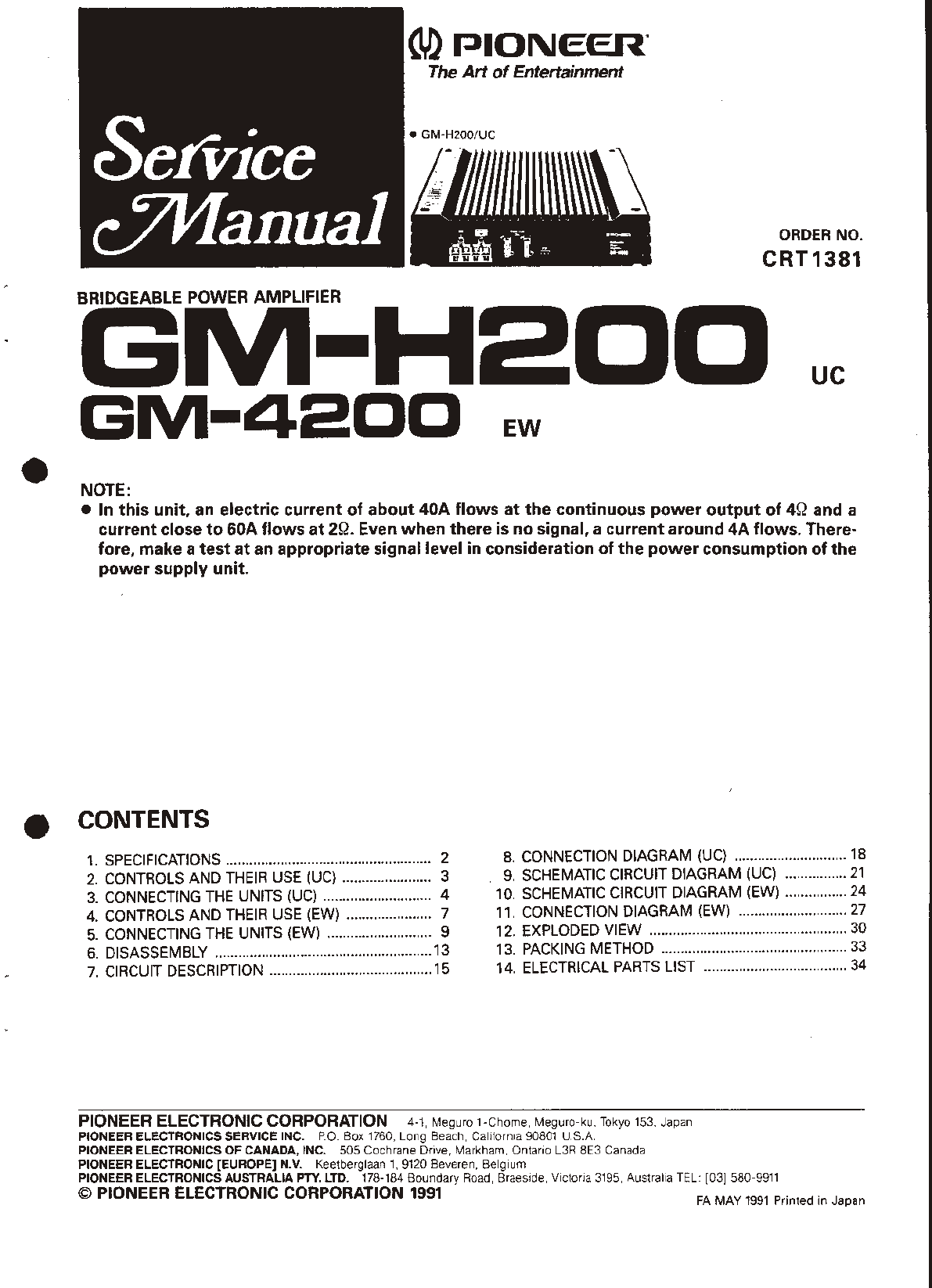 Pioneer Gm 4200 Stereo Amplifier User Manual Power Lifier Circuit Diagram On Wiring Philips Refrigerator Be6fc37b 2782 4ba3 9ae8 70c0b47217a6 Bg1