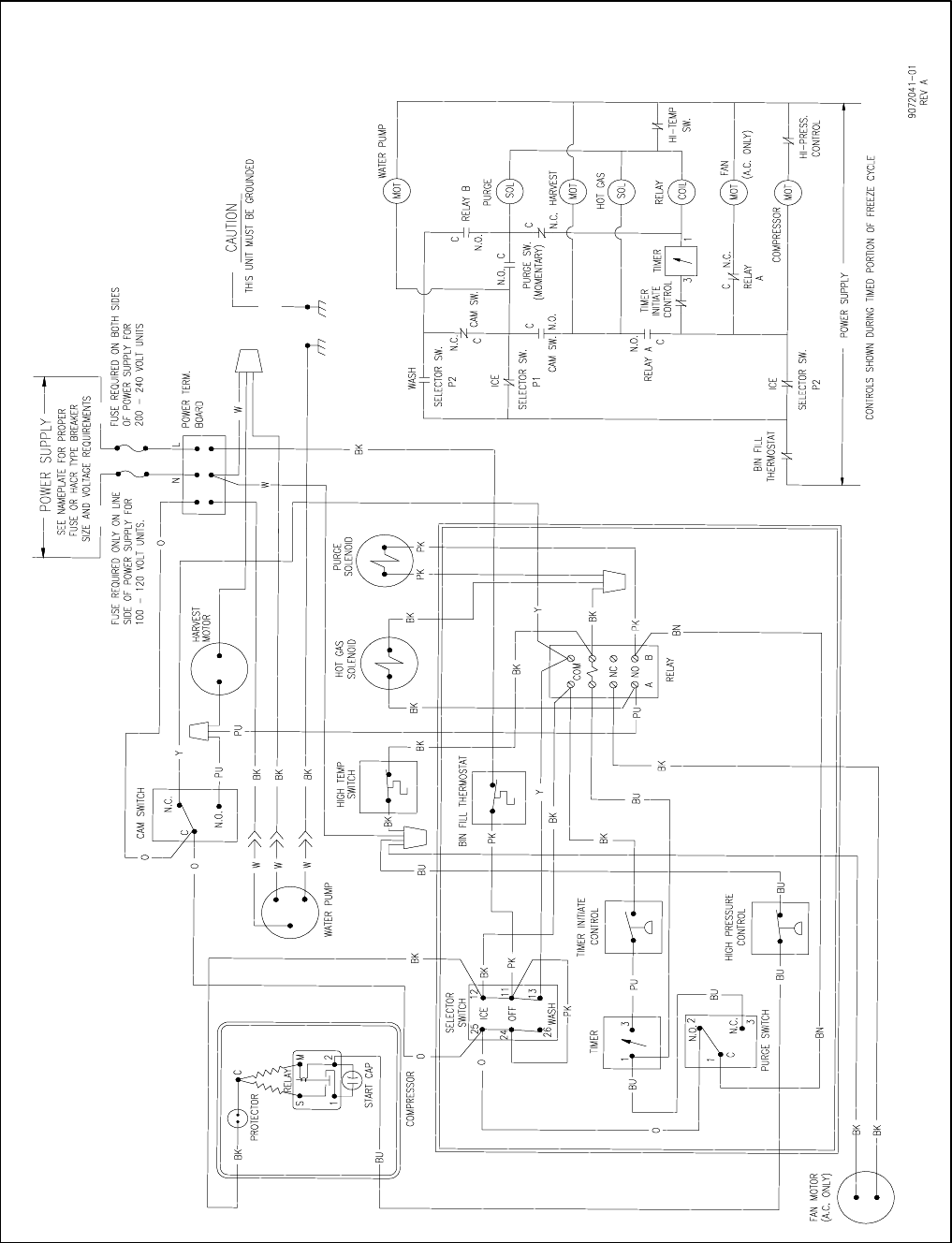 [DIAGRAM_38DE]  Page 12 of Ice-O-Matic Ice Maker ICEU220 User Guide   ManualsOnline.com   Ice O Matic Wiring Diagram      Kitchen Appliance Manuals - ManualsOnline.com