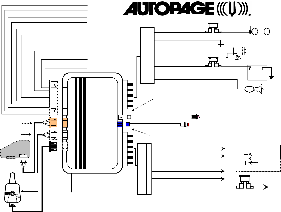 rf 425 autopage car alarm wiring diagram autopage free printable wiring diagrams