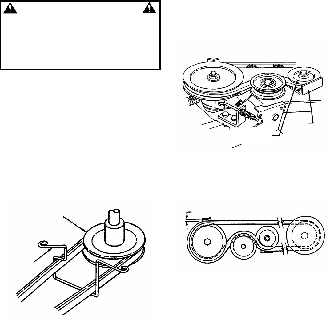 snapper rt8 belt replacement diagram