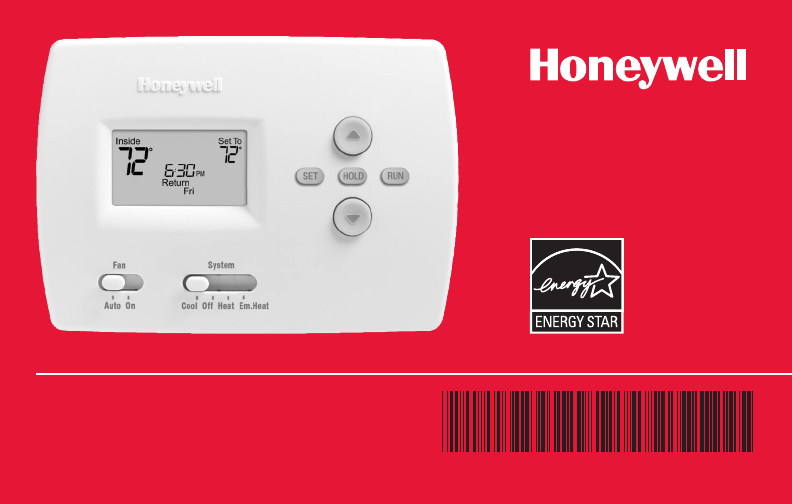 honeywell thermostat th4000 user guide manualsonline com rh fitness manualsonline com honeywell pro 4000 thermostat installation manual honeywell th4210d1005 pro 4000 digital programmable thermostat manual