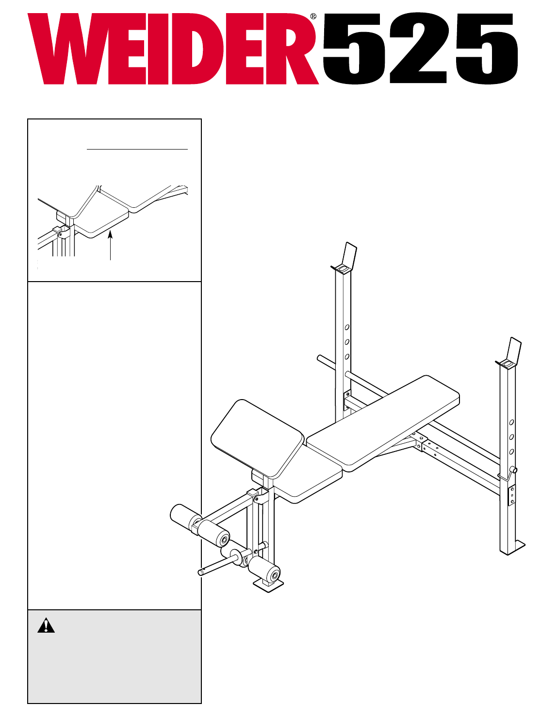 Weight Machine Replacement Parts : Weider weight bench images pin pro