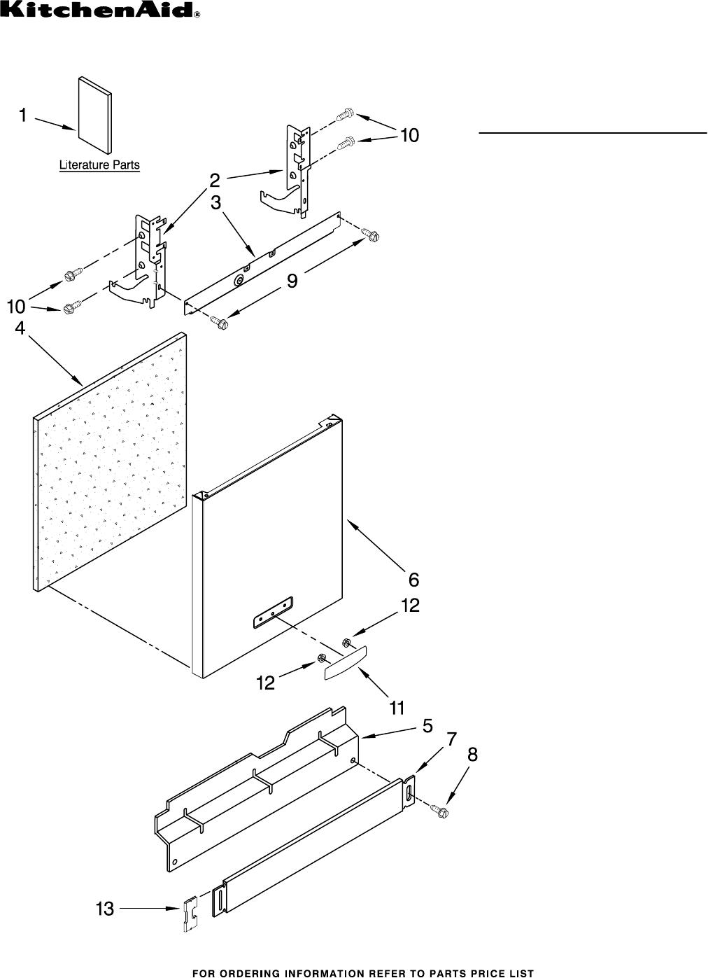 Kitchenaid Dishwasher Kudc03itbl3 User Guide Manual Guide