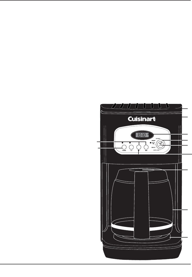 Page 5 of Cuisinart Coffeemaker DCC-1100BK User Guide ManualsOnline.com