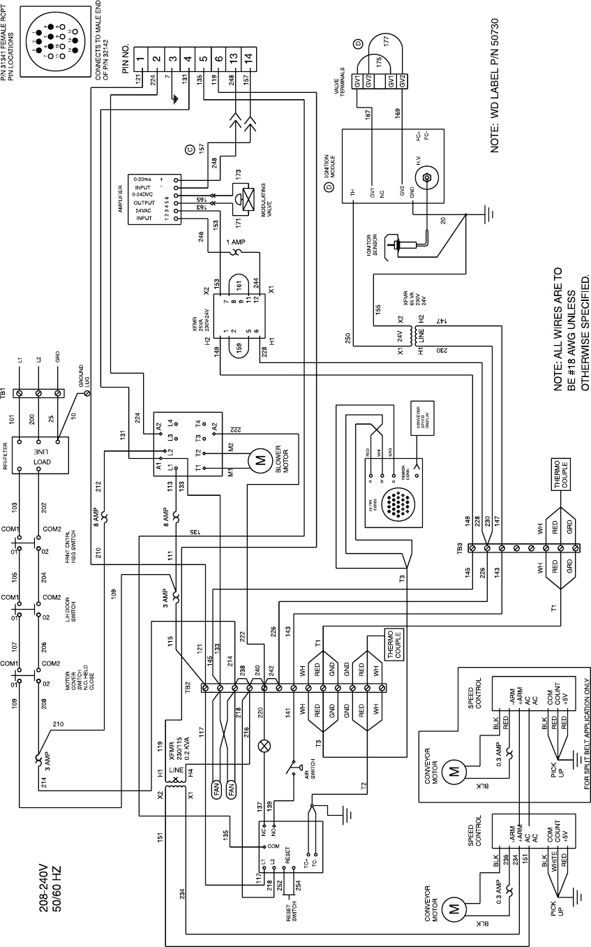 blodgett convection oven wiring diagram 39 wiring Wiring an Electric Range Receptacle GE Range Wiring Schematic