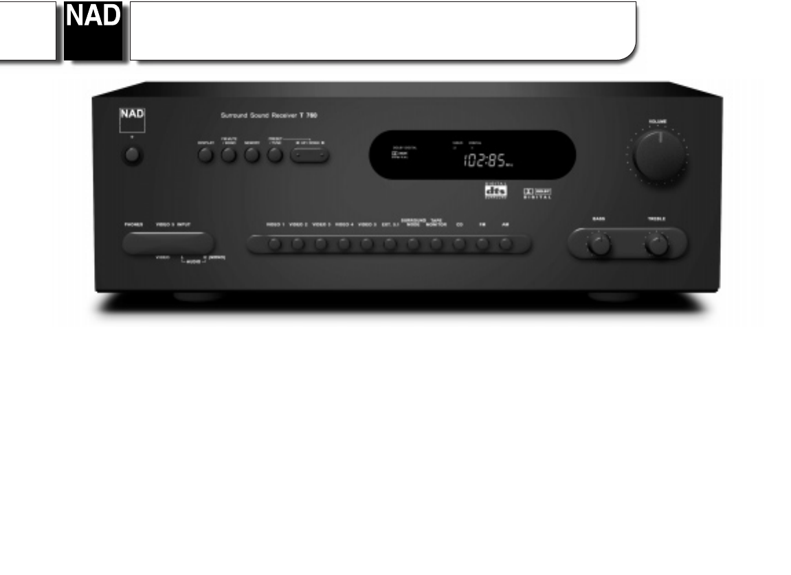 nad stereo system t760 user guide manualsonline com rh audio manualsonline com Time Zone Map of Areas 360 Area Code
